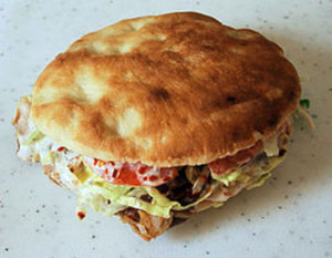 Kebab panino completo. Mister Pizza Livigno