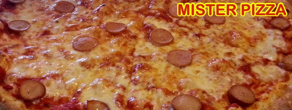 Pizza Maxi Wurstel